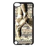 Vintage Retro Ballet Pointe Shoes Ipod Touch 5th Case Cover Aztec Tribal