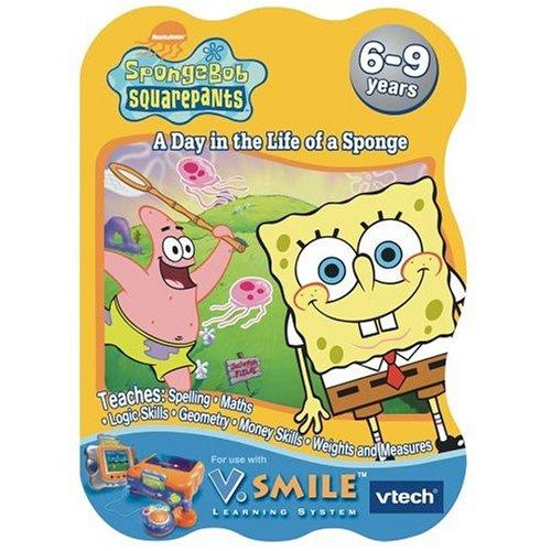 Imagen de V Tech - V.Smile - Bob Esponja: Un día en la vida de una esponja