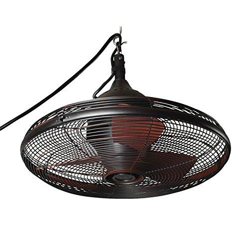 Allen + Roth 20-in Valdosta Dark Oil Rubbed Bronze Outdoor Ceiling Fan (3 Ceiling Fan Downrod compare prices)