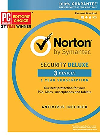 Norton Security Deluxe - 3 Devices [Key Card]