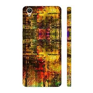 Enthopia Designer Hardshell Case Colour Grunge Back Cover for Oppo R9