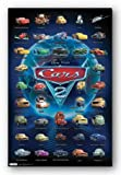 (22x34) Cars 2 Movie Grid Poster Print
