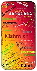 Kishmish (Sweet as grapes.) Name & Sign Printed All over customize & Personalized!! Protective back cover for your Smart Phone : Samsung Galaxy E5
