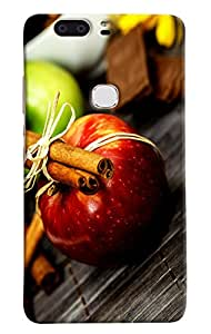 Omnam Apple With Other Effects Of Fruits Designer Back Cover Case For Huawei Honor V8