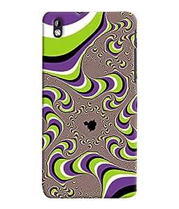 Fuson 3D Printed Pattern Designer Back Case Cover for HTC Desire 816 - D1007