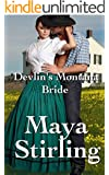 Devlin's Montana Bride (Sweet, clean Western Historical Romance)(Montana Ranchers and Brides series Book 2) (Montana Ranchers Brides)