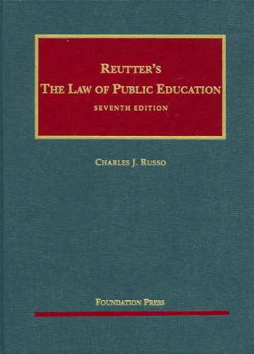Reutter's The Law of Public Education