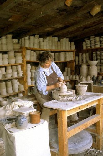 Pottery Basics - A Complete Guide to Pottery Making, Pottery Painting and Home Decorating