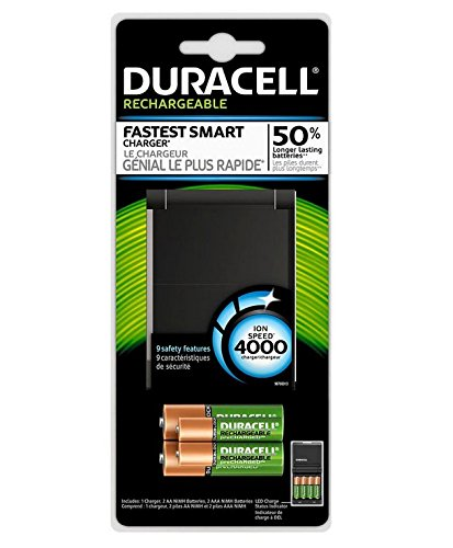 Duracell Ion Speed 4000 Battery Charger 1 Count (Duracell Ion Speed 8000 compare prices)