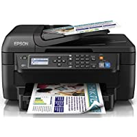 Epson WorkForce Color Inkjet All-in-One Printer with Duplex (Black)