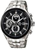Casio #EF556D-1AV Men's Edifice Stainless Steel Sports Analog Chronograph Watch