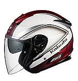オージーケーカブト(OGK KABUTO) バイクヘルメット ジェット ASAGI CLEGANT クレガント パールホワイト M(57-58cm)