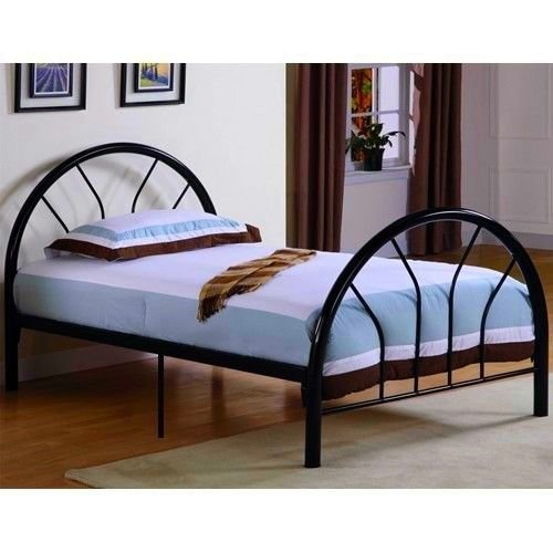New Metal Twin Size Kid Bed Frame  Headboard