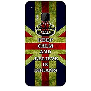 Skin4gadgets Keep Calm and BELIEVE IN DREAMS -UK Flag Phone Skin for HTC ONE M9