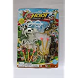 LAXMI COLLECTION (PACK OF 3) TOY GUN FOR KIDS WITH SHOOTING OBJECTS,RETURN GIFTS FOR KIDS BIRTHDAY PARTY (FOR...
