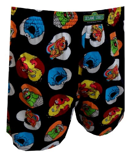 Sesame Street Characters Lots Of Love Boxer Shorts for men