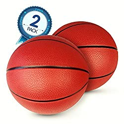 Pool Basketball 2-Pack - Ideal Water Basketballs For Safe Play - No Slip Grip - Perfect Ball Weight For Low Impact & High Action Fun - Two Balls Included