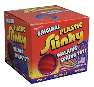 Amazing Plastic Slinky (Colors May Vary) With Tension Springs - Makes A Great Gift! - Made In Usa Jouets, Jeux, Enfant, Peu, Nourrisson