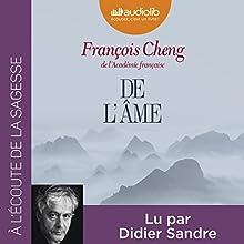 De l'âme | Livre audio Auteur(s) : François Cheng Narrateur(s) : Didier Sandre