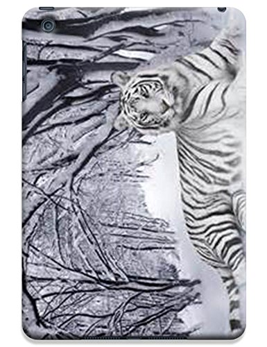 Lovely Power Tigers Cases Covers Phone Hard Back Cases Beautiful Nice Cute Animal Hot Selling Cell Phone Cases For Apple Accessories Ipad Mini # 12