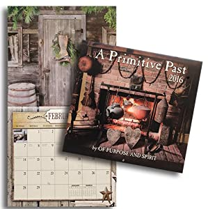 A primitive past country photography 2016 calendar home for Home decorations amazon