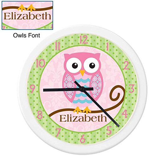 KidKraft Owls Boy Clock