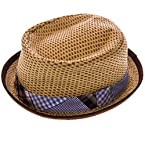 Plaid Pork Pie Hat