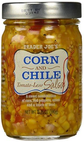 Trader Joe's Corn and Chile Tomato-less Salsa 13.75 oz (Trader Joes Corn Salsa compare prices)