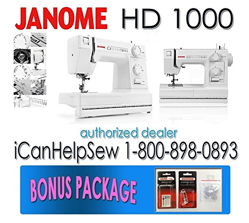 Review Janome HD40 Heavy Duty Sewing Machine She Likes To Sew Gorgeous Sewing Machine Skipping Stitches Problems