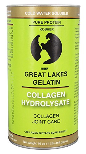 Great Lakes Gelatin, Collagen Hydrolysate (Beef Kosher) 16-Ounce