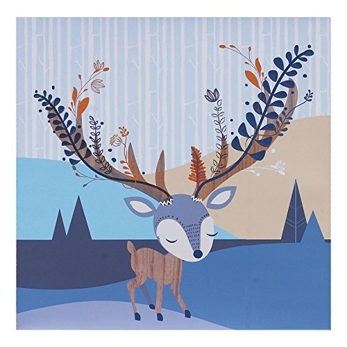 Lolli Living Woods Canvas Art, Deer