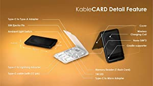 KableCARD Color:Black