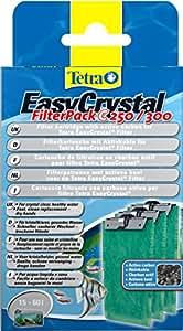 Tetra 151598 EasyCrystal Filter Pack C250/300, mit Aktivkohle Filterpads für EasyCrystal Filter