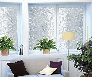 film electrostatique decoratif pour vitrage galet rouleau 92cm x 200 cm cuisine. Black Bedroom Furniture Sets. Home Design Ideas