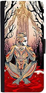 Snoogg Thinker'S Soul Designer Protective Flip Case Cover For Samsung Galaxy ...