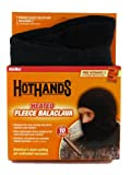 HeatMax Heated Fleece Balaclava Head & Neck Warmer (Black)