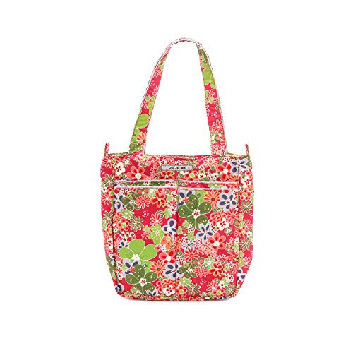 Ju-Ju-Be Be Light Tote Bag, Perky Perennials