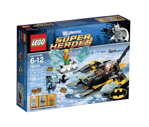 LEGO Super Heroes Arctic Batman vs Mr Freeze 76000 Amazon.com