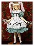 60cmドール用ドレス SDうさみみセット ホワイト