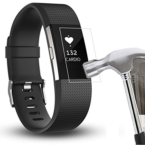 for-fitbit-charge-2-sunfei-5pc-hd-protective-film-intelligent-lcd-screen