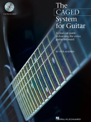 Pete Madsen: The CAGED System For Guitar. For Chitarra, Tablatura di Chitarra