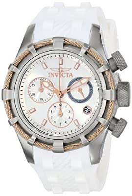 Invicta Women's 16104 Bolt Analog Display Swiss Quartz White Watch