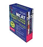 Kaplan MCAT Review: Complete 5-Book Series (Kaplan MCAT Complete Subject Review (5v))
