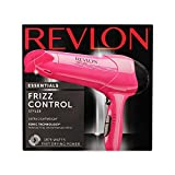 Revlon Essentials 1875W Frizz Control Hair Dryer, RV474