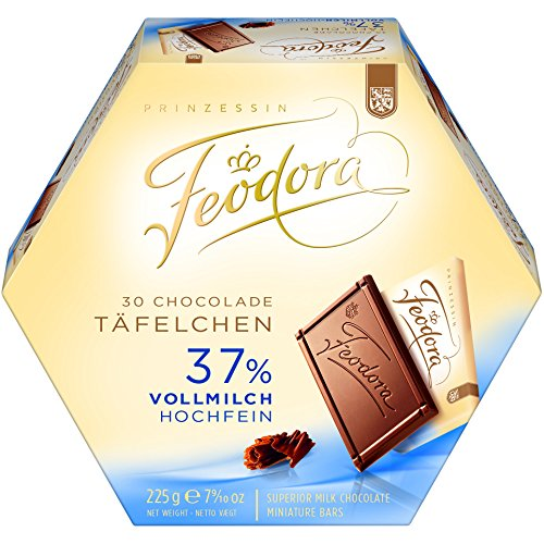 Feodora Chocolade Tablets Whole Milk Hochfein 225g