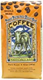 Ravens Brew Whole Bean 3 Peckered Billy Goat Blend,Dark Roast 12-Ounce Bags (Pack of 2)
