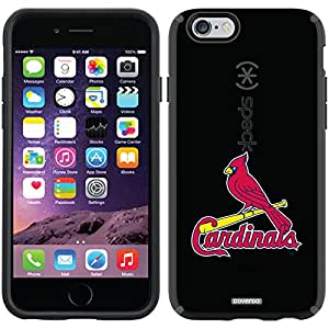 Coveroo CandyShell Case for iPhone 6 - Retail Packaging - Black/St. Louis Cardinals 1 Design