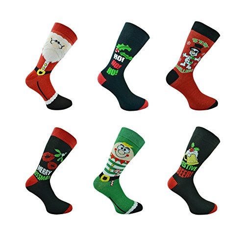 UK Socks -  Calze  - Uomo Multicolore Mens