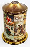 Christmas Musical Collectors Tin Caddy by Basilur of Ceylon tea with natural fruits (100g) Loose Tea. Exclusively Available from the Indianteacompany