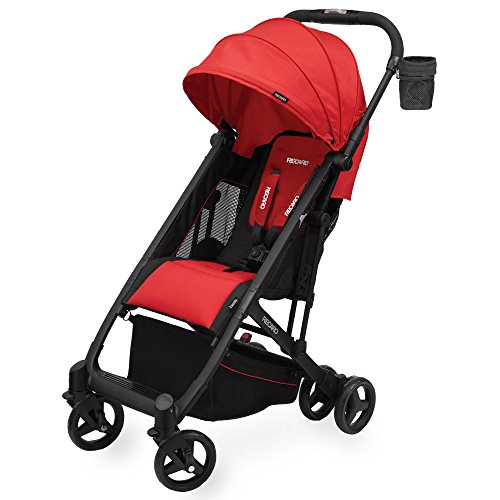 Best Price! RECARO Easylife Ultra-Lightweight Stroller, Scarlet